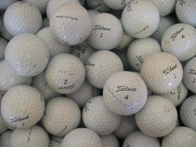 Titleist Pro V1 Lot de 50 balles de golf Grade B