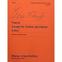 Sonate a-Dur Fur Violine Und Klavier Violon (Wiener Urtext Edition)