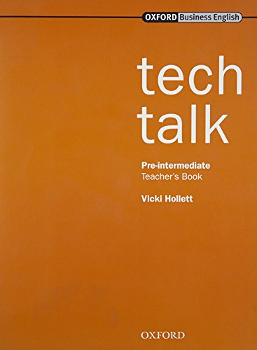 Tech Talk Pre-Intermediate. Teacher's Book: Teacher's Book Pre-intermediate lev