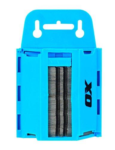 OX-P222110 Heavy Duty Série Pro Distributeur de lames de cutters – Bleu/noir (lot de 100)