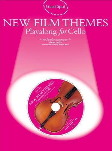 New Film Themes für Cello solo (+CD) mit Bleistift -- 10 beliebte Filmmelodien u.a. aus DIE FABELHAFTE WELT DER AMELIE und MOULIN ROUGE in leichten bis mittelschweren Arrangements (Noten/sheet music) (Fabelhafte Spa)