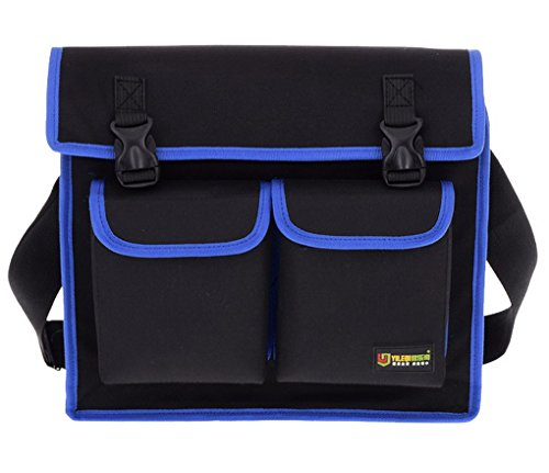 ACMEDE Werkzeugtasche,aus 600D Oxford,verstellbarer Schultergurt,Wasserdicht,35x28x11,5cm