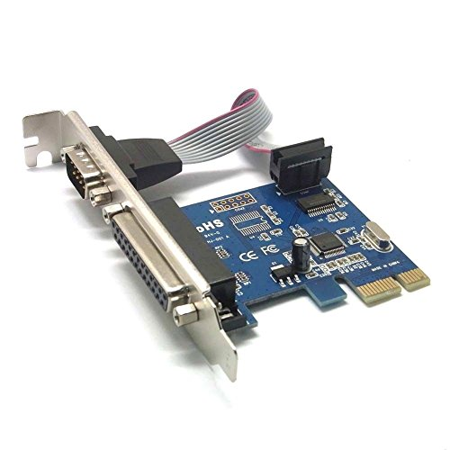 Db25-parallel-drucker (Sienoc DB25 Parallel Port LPT Printer DB9 RS232 zu to PCI-E PCI Express Card Adapter Converter WCH Chipsatz)