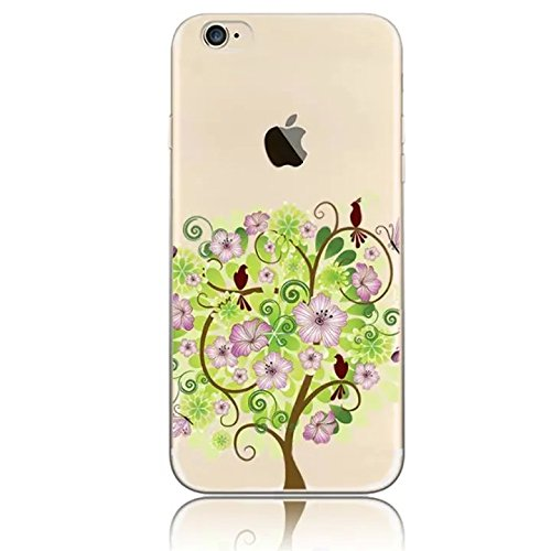 Sunroyal iPhone 5SE SE / 6C Hülle Rose Gold TPU Case Schutzhülle Silikon Rückseite Klar Clear Case Durchsichtig Bumper Zurück Bling Crystal Kirstall Diamant Strass Rhinestone Frame Rahmen Design 06