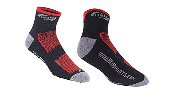 BBB BSO-01 TechnoFeet Socken schwarz-rot