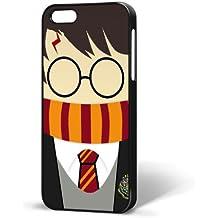 B/295 - Carcasa rígida de plástico para iPhone 5 y 5S, diseño de Harry Potter