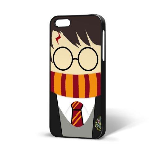 b-295–Schwarz–Harry Potter Wizard–TV–Quirky Cool–iPhone 5/5S (The Fall–Weihnachten, Geburtstag Neuheit Geschenk (Iphone 5s Fall Cool)