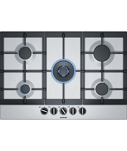 Siemens EC7A5RB90 Integrado Encimera de gas Acero inoxidable hobs - Placa (Integrado,...