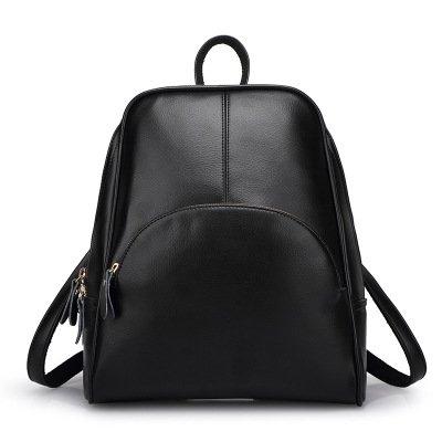 Mefly Borsa Scuola Borsa a Tracolla nuova edizione coreana studente di moda signora Claret black