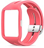 Sony Mobile Sport Armband Wechselband für Sony SmartWatch 3 - Pink