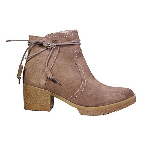 YOKONO Zapato - Mujer Color Taupe Talla 41 EU