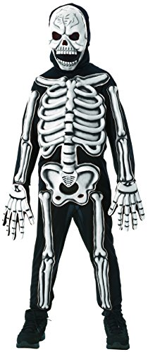 Rubies - Kinderkostüm Skelett