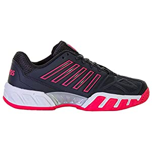 K-Swiss Performance Damen Bigshot Light 3 Tennisschuhe, Weiß (Magnet/Pink/White 43)