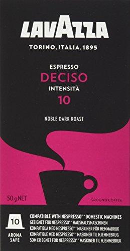 Lavazza Nespresso kompatible Kapseln, Mischkarton (5 x 10 Kapseln), Set mit 4 Sorten
