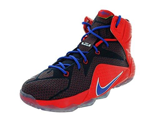 Nike Lebron Enfants Xii Sport Entraîneur Chaussures Unvrsty Rd/Gm Ryl/Mid Nvy/Lyn