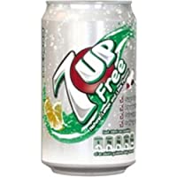 Britvic dieta 7-Up Limone e Lime Carbonated canned bevanda 330 ml