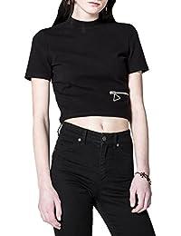 Cheap Monday Women's Point Woman's Top In Black Color Cotton