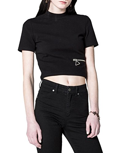 Cheap Monday Women's Point Woman's Top In Black Color In Size M Black