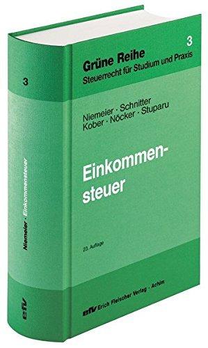 Einkommensteuer (Grüne Reihe) by Gerhard Niemeier (2014-09-16)