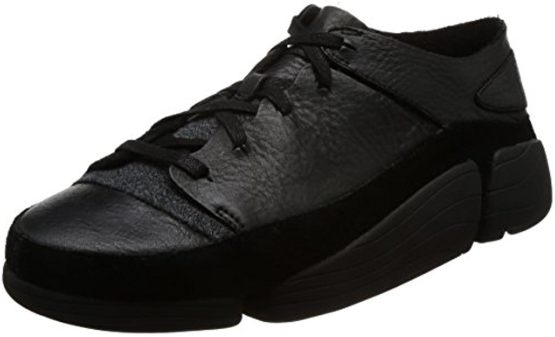 Clarks Herren Schwarz Trigenic Evo Sneakers