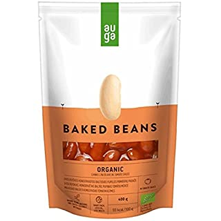 Auga Organic White Beans in Tomato Sauce 400g (Pack of 6)