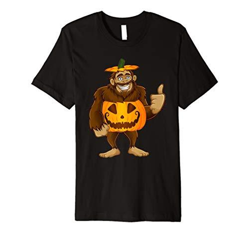 Bigfoot Kürbis Halloween Kostüm T-Shirt