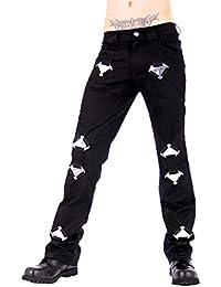 Aderlass Metal Pants Denim DE Black