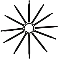 AGPTek Fascette Ferma-Cavo con Velcro, 200 mm, set di 20 Pezzi, Nero