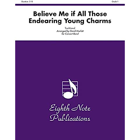 Believe Me If All Those Endearing Young Charms: Conductor Score & Parts - Musica Nota Charm