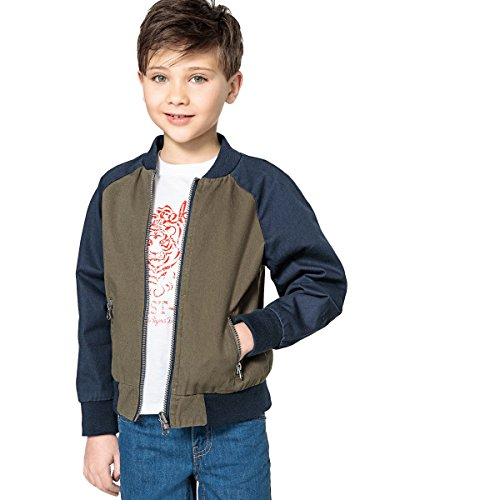 La Redoute Collections Jungen Wendbare Bomberjacke, 312 Jahre 10 Ans 138 Cm