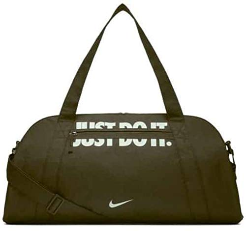 Nike Damen Gym Club Sporttasche, Oliv/Weiß
