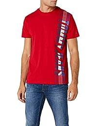Tommy Jeans Hombre Vertical  Camiseta Manga Corta