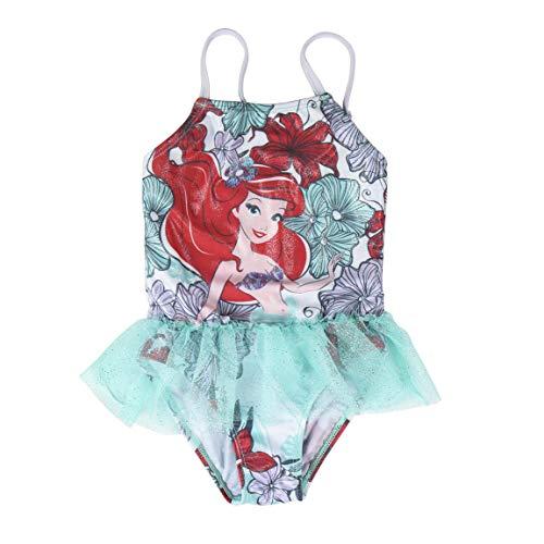 Disney Princess Ariel - Badeanzüg für Mädchen - 4873-22 [Hellblau - 2/3 Jahre - 92/98 cm] (Ariel Badeanzug)