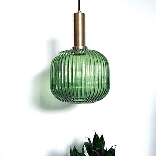 Art-deco-glas-kronleuchter (CHUNGUANG 4-Lichter Nordic Mini einstellbare Glas Anhänger Leuchten, Neue kreative LED hängenden Kronleuchter, Retro-Stil Art-Deco-Deckenleuchte Kinderzimmer Kronleuchter Wohnzimmer Schlafzimmer)