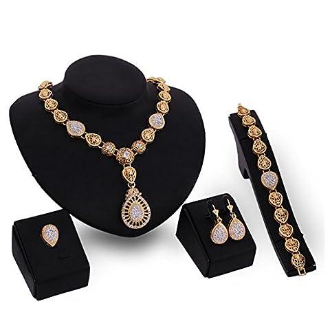 Mesdames mode rétro collier simple rétro court frangé anneau de boucles d