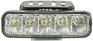 FK Automotive FKXLDL010109 Feux de Jour à LED avec Relais Universel, Chromé