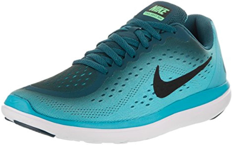 Nike Scarpe da Ginnastica Flex RN 2017 (GS) Legion blu nero di Cloro, Legion blu nero-Chlorine, 4Y | benevento  | Sig/Sig Ra Scarpa