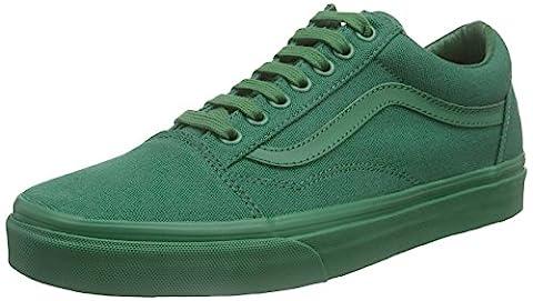 Vans Old Skool, Unisex Sneakers, Grün (verdant