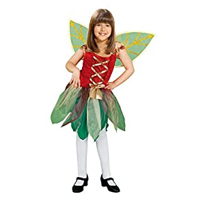 My Other Me Me - Disfraz de Hada del bosque para niñas, talla 10-12 años, color verde (Viving Costumes MOM00728)
