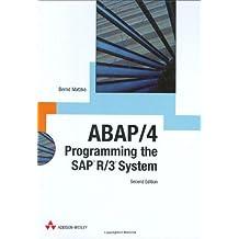 ABAP/4: Programming the SAP R/3 System by Bernd Matzke (2000-12-10)