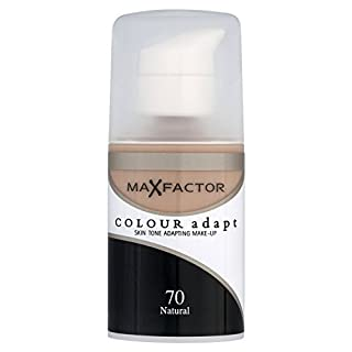 Max Factor Colour Adapt Foundation 70 (natural) 34ml Make Up Base For Women by Max Factor