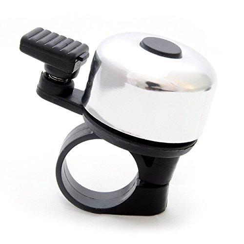 Reto Fahrrad Glocke Klingel Ring Fahrradglocke mit Aluminium »Ding Dong« Laut Fahrradklingel