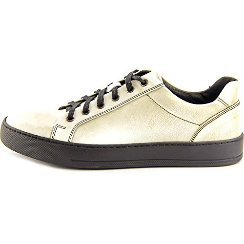Kenneth Cole Reaction Sky High Hommes Cuir Baskets Taupe