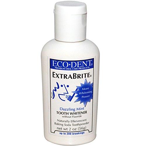 ExtraBrite, Tooth Whitener, sans fluorure, Dazzling Mint - Eco-Dent