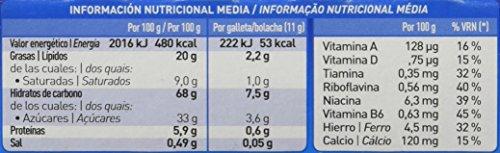 Cuétara Tosta Rica ChocoGuay Galletas Sándwich Rellena de Crema de Leche - 168 g