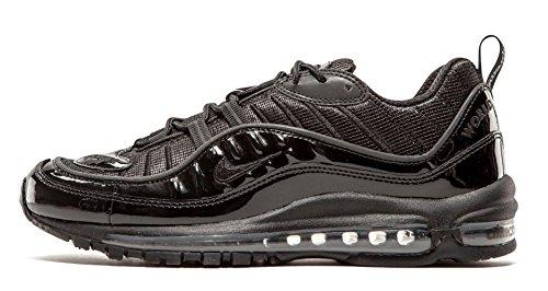 Nike Air Max 98 / Supreme, Scarpe da Corsa Uomo, Nero (Black (Nero / Nero-Nero)), 44 EU