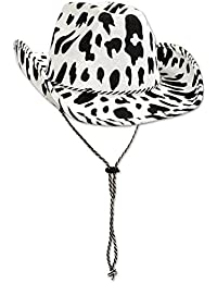 01772d7ad006a Amazon.co.uk  White - Cowboy Hats   Hats   Caps  Clothing
