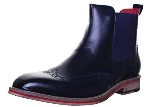 justin-reece-raymond-mens-leather-matt-boots-10-uk-navy-