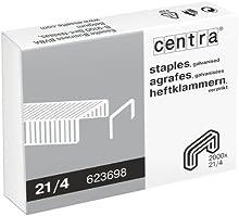 Centra galvanizado Grapas - 21/4 mm, caja de 2000