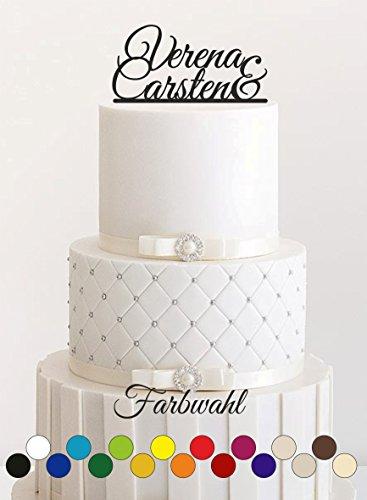 tecker, Tortefigur Acryl, Tortenständer - Farbwahl - Etagere Hochzeit Hochzeitstorte ()